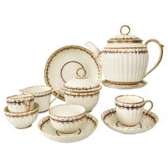 Early Derby Breakfast Set, George III, 1782-1800