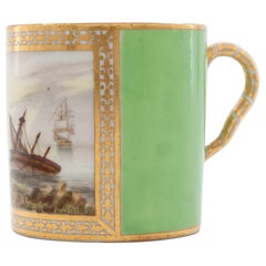 Early Derby Porcelain Coffee Can att. to George Robertson, circa 1795