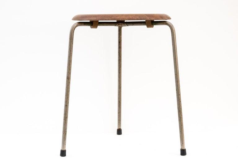 Early 'Dot' stool by Hans-Agne Jakobsson for Fritz Hansen, Denmark, 1965.