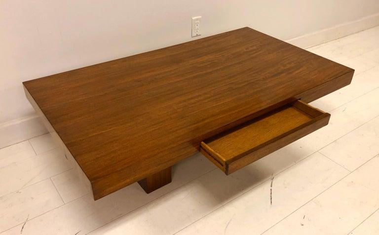 Mid-20th Century Early Dunbar Mahogany Coffee Table For Sale