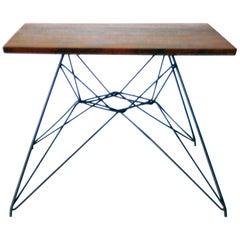 Early Eames Eiffel Base Prototype Table