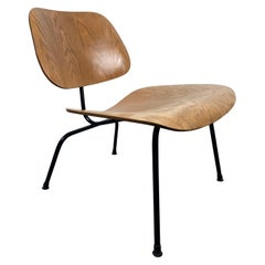 Early Eames LCM Lounge Chair, Herman Miller, USA, 1950s, Ash/ Black Frame