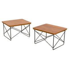 Early Eames LTR Side Tables