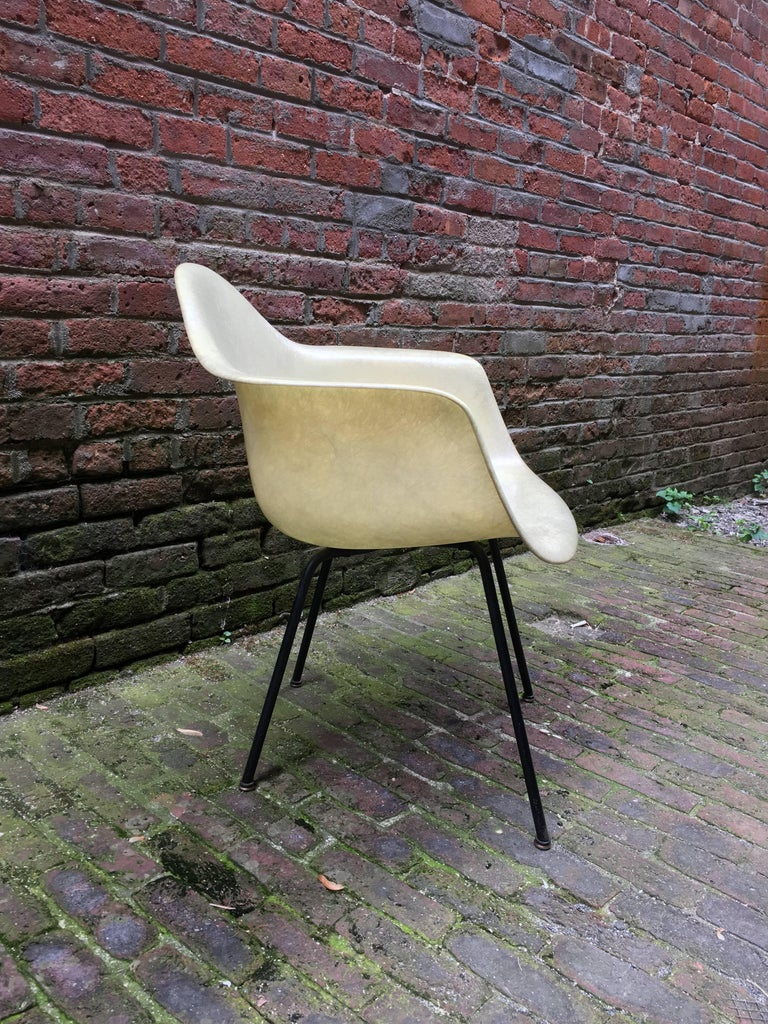Early Eames Rope Edge Dax Shell Chair For Sale At 1stdibs