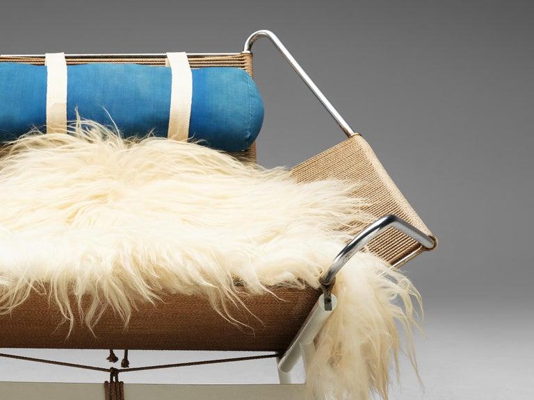 Mid-20th Century Early Edition Hans Wegner Flag Halyard Chair