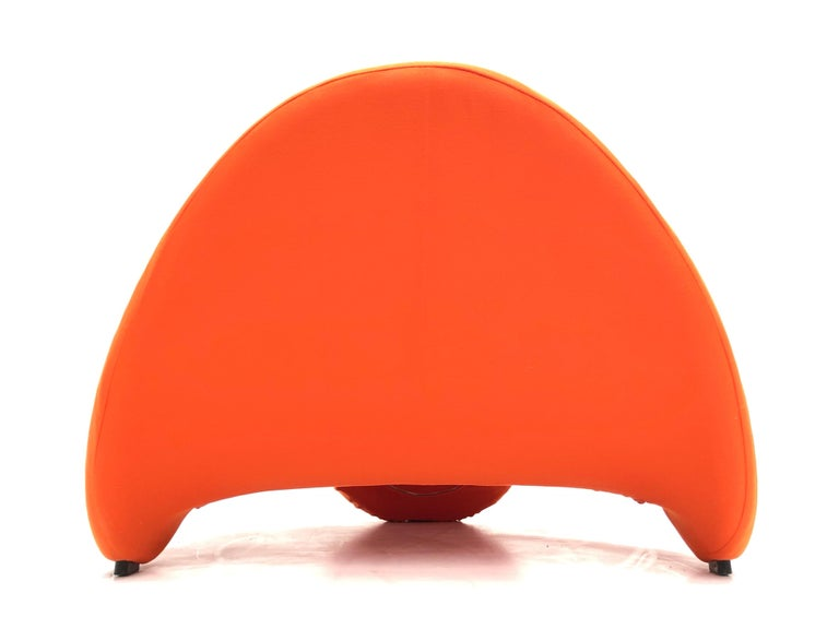 Early Edition Pair of Tongue Chairs F577 by Pierre Paulin for Artifort, 1967 For Sale 1