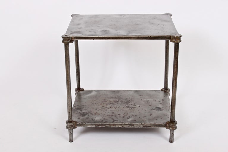 Early Edwardian Iron Two-Tier Étagère, Table 5