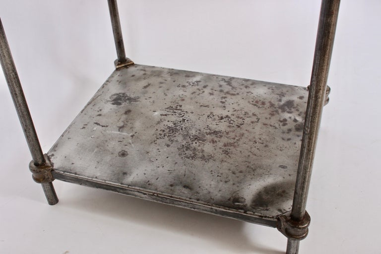 Early Edwardian Iron Two-Tier Étagère, Table 1