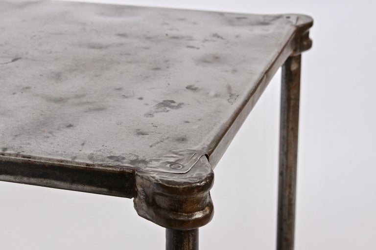 Early Edwardian Iron Two-Tier Étagère, Table 2