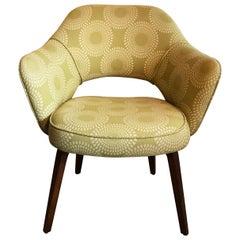 Early Eero Saarinen for Knoll Executive Armchair Wood Legs