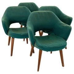 Early Eero Saarinen for Knoll Mid Century Executive Armchairs - Set of 4