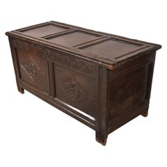 Early English Oak Chest