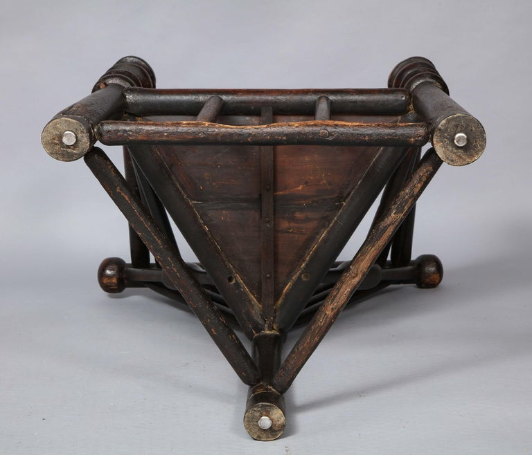 Early English or Scottish Turner's Chair  For Sale 9