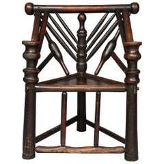 Early English or Scottish Turner's Chair