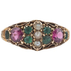 Early English Suffragette Ring, 1897