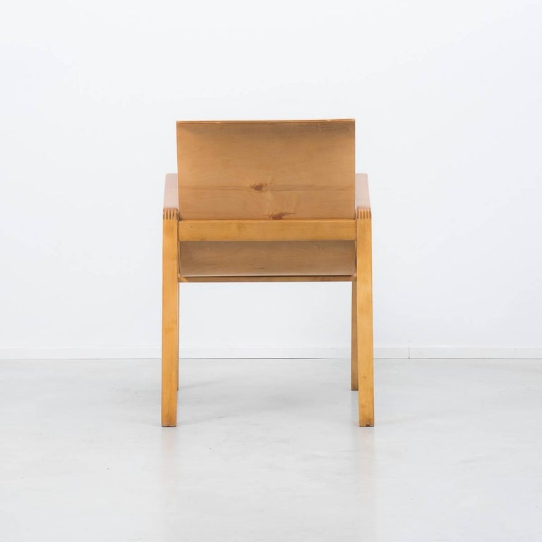 "Early Finmar Production Alvar Aalto 403 ""Hallway"" Chair In Excellent Condition For Sale In London, GB"