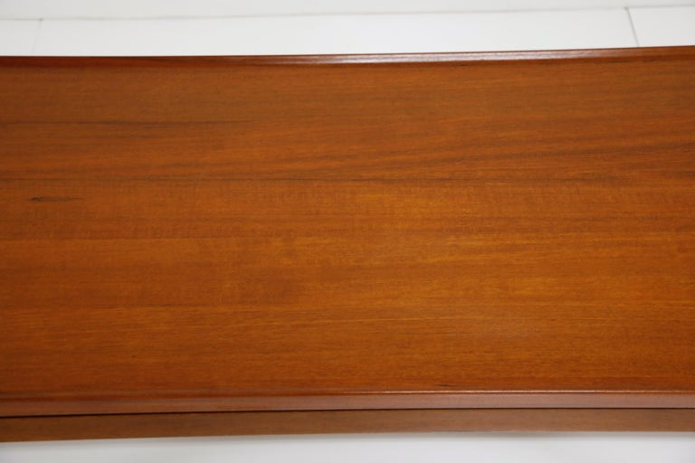 Early Finn Juhl for France and Daverkosen FD532 Teak Coffee Table, Denmark 1950s For Sale 7