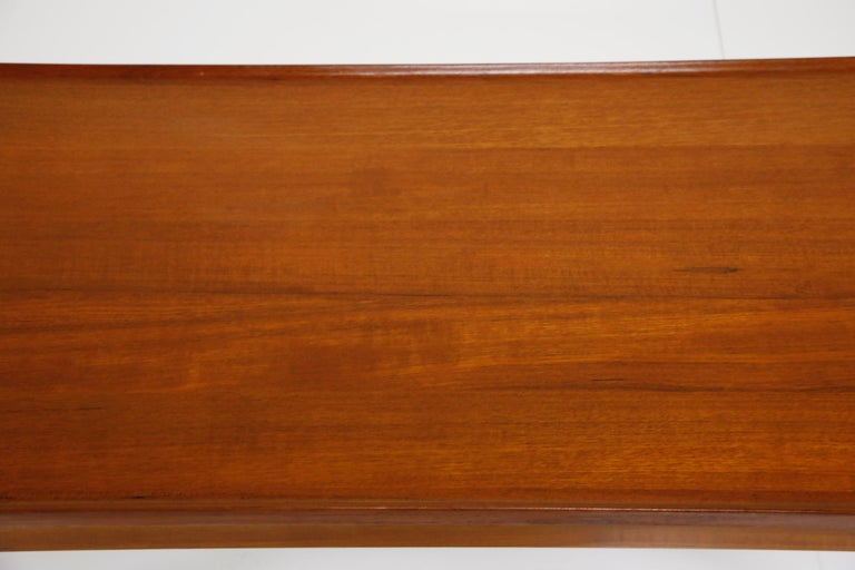 Early Finn Juhl for France and Daverkosen FD532 Teak Coffee Table, Denmark 1950s For Sale 10