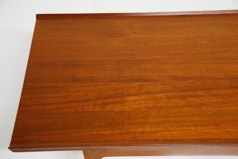 Early Finn Juhl for France and Daverkosen FD532 Teak Coffee Table, Denmark 1950s For Sale 11