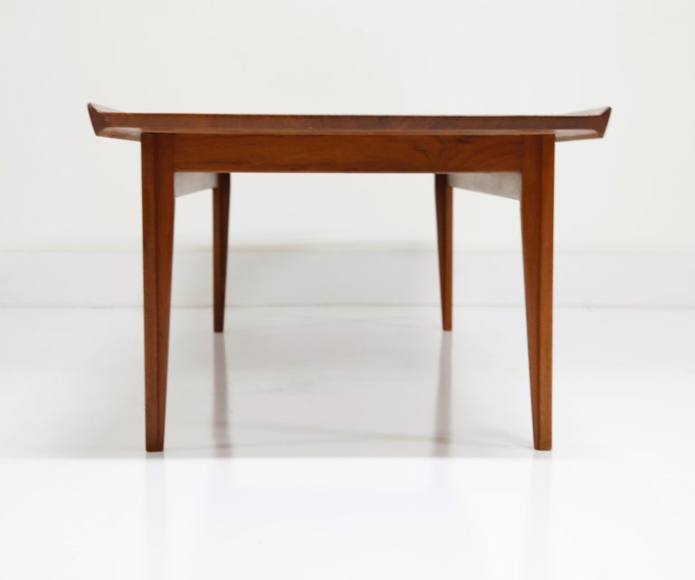 Early Finn Juhl for France and Daverkosen FD532 Teak Coffee Table, Denmark 1950s For Sale 4