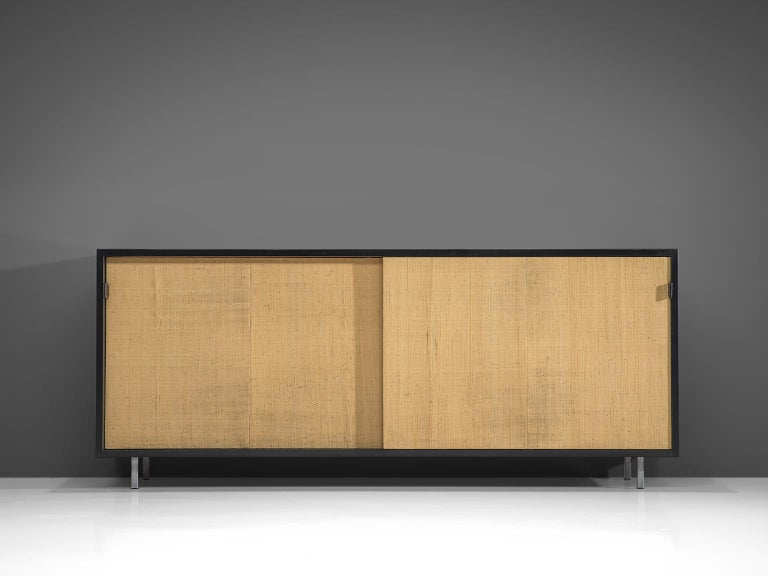 Early Florence Knoll Credenzas for Knoll Head Office In Good Condition For Sale In Waalwijk, NL