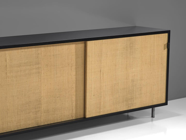 Mid-20th Century Early Florence Knoll Credenzas for Knoll Head Office For Sale