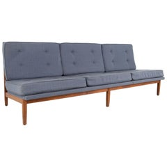 Early Florence Knoll Mid Century Daybed Slipper Sofa