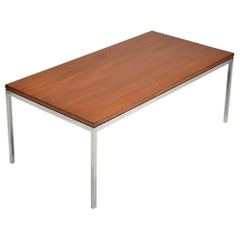 Early Florence Knoll Teak Coffee Table