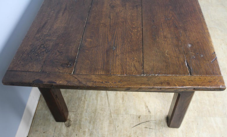 Early French Oak Coffee Table For Sale 2