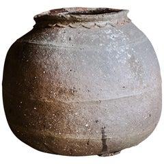 Early French Stoneware Pot, circa 1890