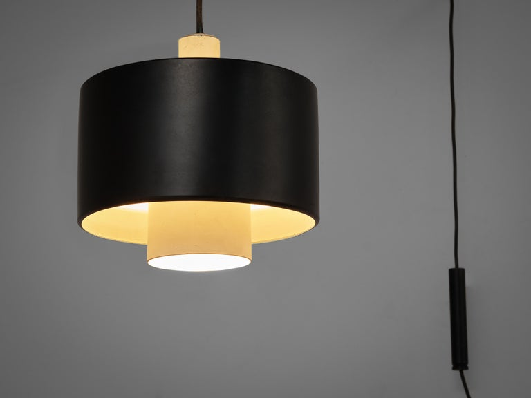Mid-Century Modern Early Gaetano Sciolari for Stilnovo Wall-Mounted Pendant Lamp Model '2061' For Sale