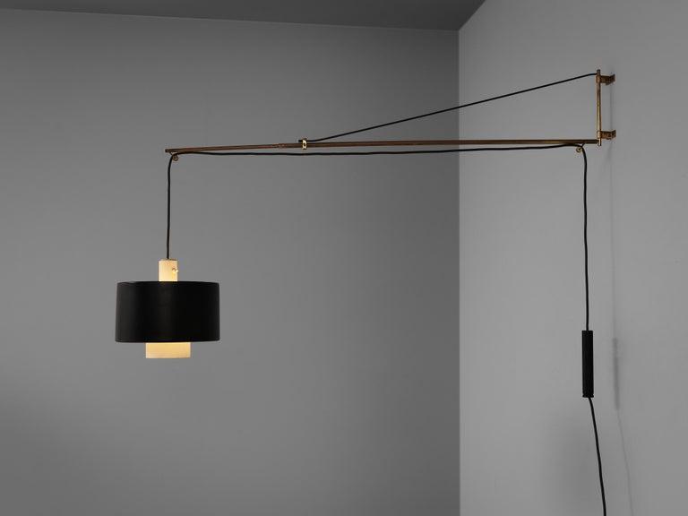 Italian Early Gaetano Sciolari for Stilnovo Wall-Mounted Pendant Lamp Model '2061' For Sale