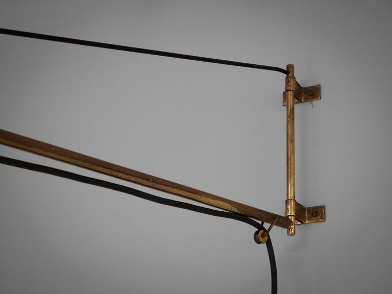 Metal Early Gaetano Sciolari for Stilnovo Wall-Mounted Pendant Lamp Model '2061' For Sale