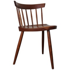 Early George Nakashima Studio Mira Nakashima Mira Chair in Cherry