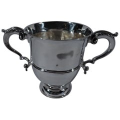 Early Georgian Sterling Silver Classical Urn