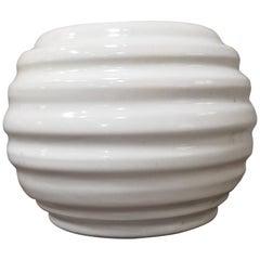 Early Hand Thrown Garden City Art Pottery Vase
