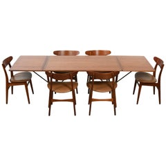 Early Hans Wegner Dining Set, circa 1950s