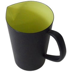 Early Herbert Krenchel Krenit Carafe Pitcher Avocado Green