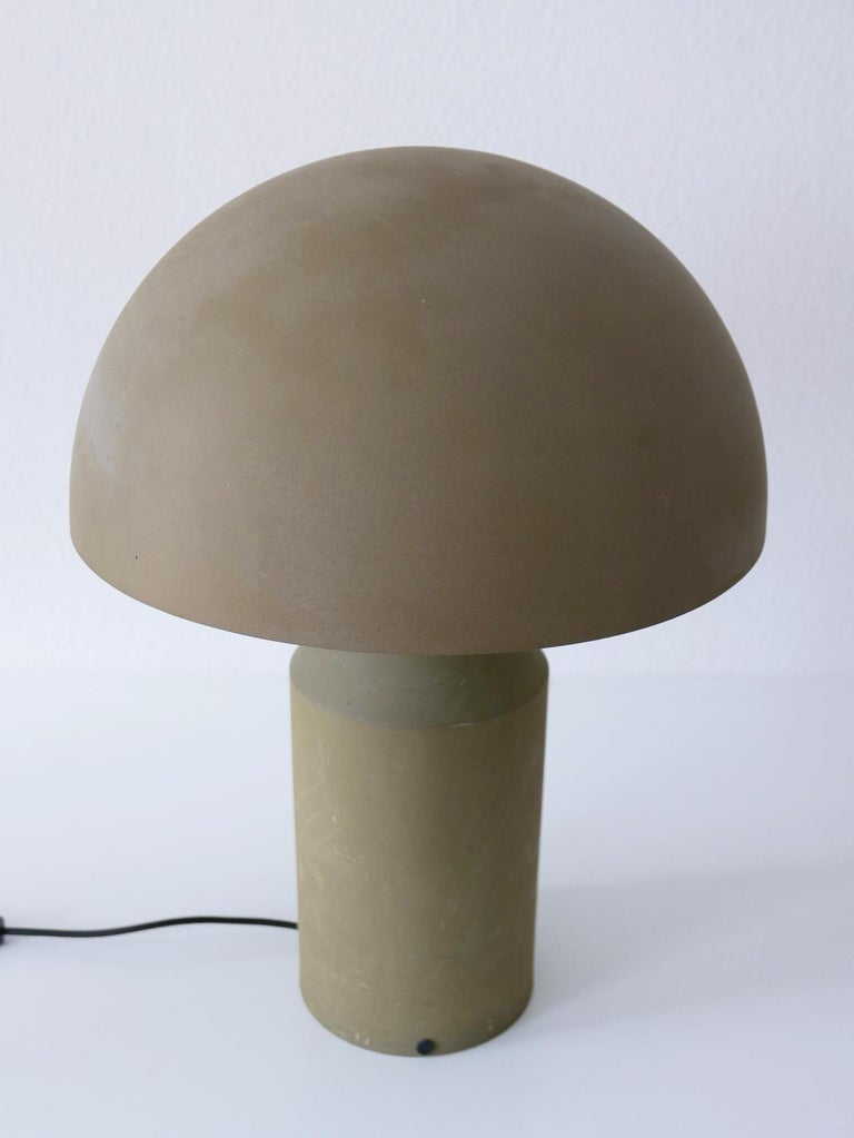 Early & Huge Atollo Table Lamp by Vico Magistretti for Oluce, Italy, 1977 For Sale 6