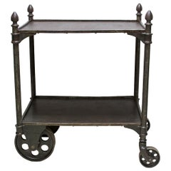 Early Industrial Cast Iron Cart