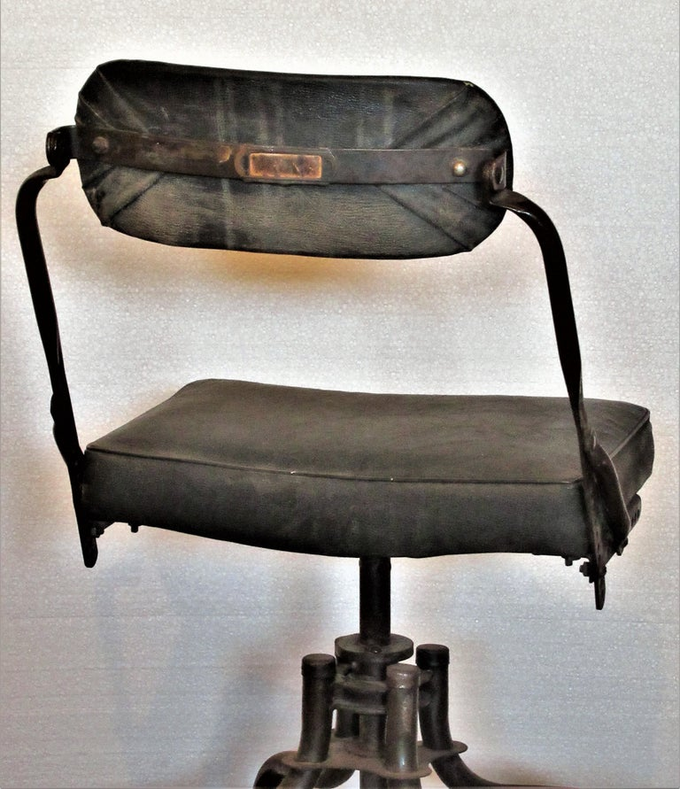 Early Industrial Task Chairs by Domore For Sale 6