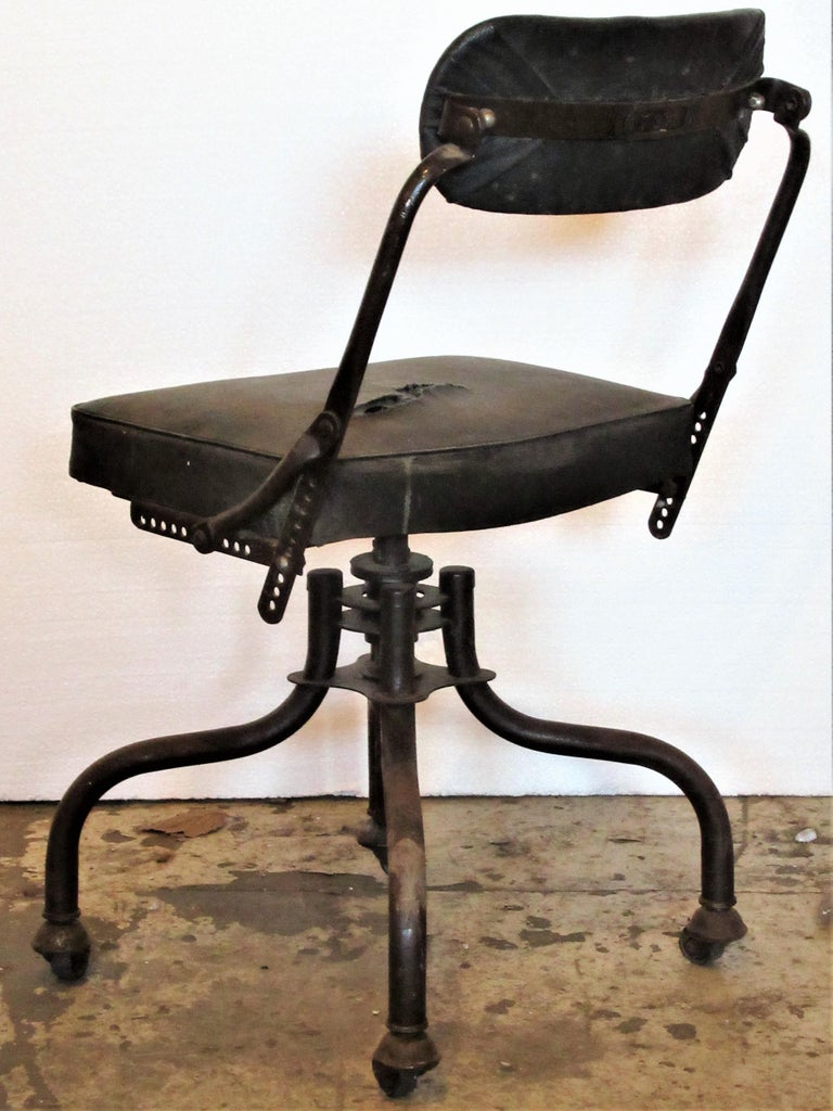 American Early Industrial Task Chairs by Domore For Sale