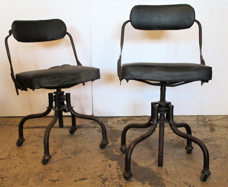 Early Industrial Task Chairs by Domore For Sale 1