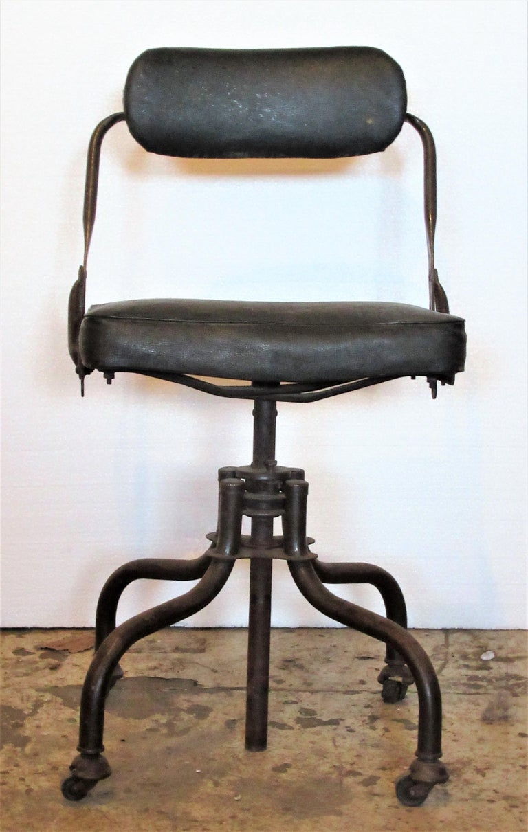 Early Industrial Task Chairs by Domore For Sale 2