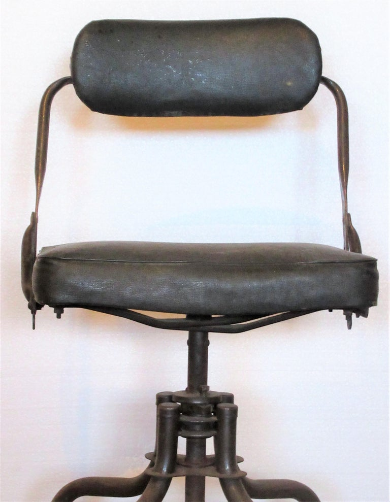 Early Industrial Task Chairs by Domore For Sale 3