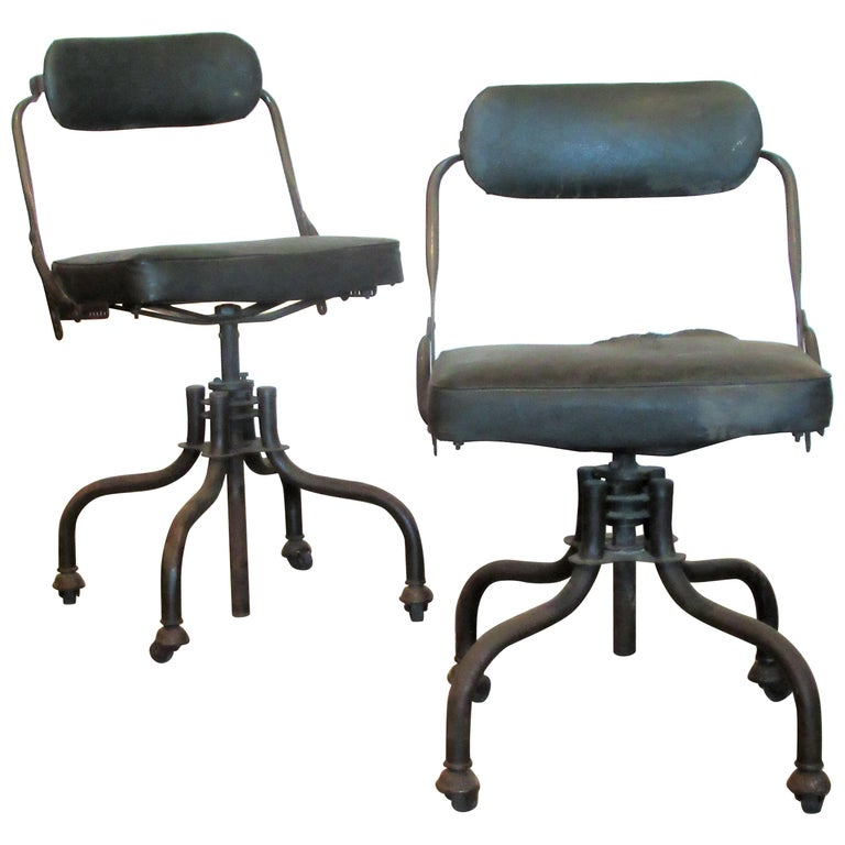 Early Industrial Task Chairs by Domore For Sale