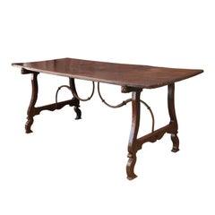 Early Italian Walnut Table