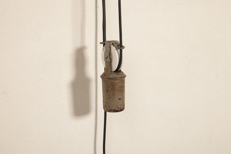 Early Johan Petter Johansson Industrial Triplex Telescopic Lamp, Sweden, 1910s For Sale 2