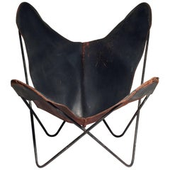 Early Knoll Butterfly Chair by Jorge Ferrari-Hardoy Juan Kurchann Antonio Bonet