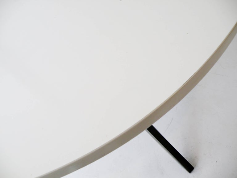 20th Century Early Knoll Hans Bellmann Round Popsicle Dining Table For Sale
